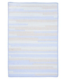 Colonial Mills Ticking Stripe Rect Starlight 2' x 4' Accent Rug