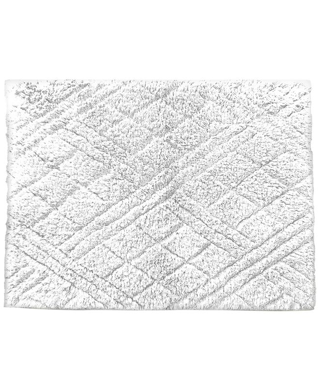 "Butterfly Home Fashions CLOSEOUT! Cotton 21"" x 34"" Bath Rug"