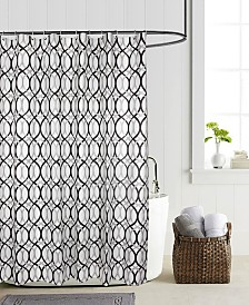 """Butterfly Home Fashions Madison 70"""" x 72"""" Shower Curtain"""
