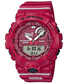 G-Shock Men's Analog-Digital Everlast Red Resin Strap Watch 48.6mm, A Limited Edition