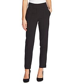 Pin-Tuck Skinny Pants