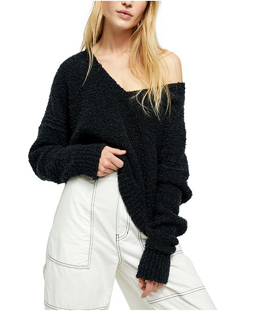 Free People Finders Keepers V-Neck Sweater