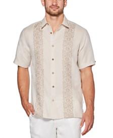 Cubavera Men's Tobacco Leaf Emblem Shirt