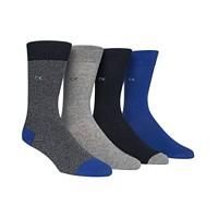Calvin Klein Men's 4-Pack Dress Socks