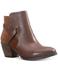 Ashlyn Leather Leather Booties , Created for Macy's
