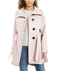 Madden Girl Juniors' Belted Skirted Coat