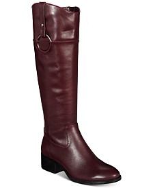Alfani Women's Bexleyy Riding Boots, Created for Macy's