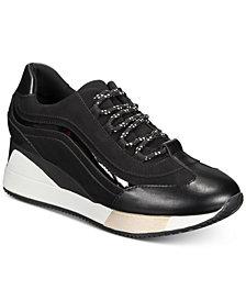 Alfani Women's Wynter Wedge Sneakers, Created for Macy's