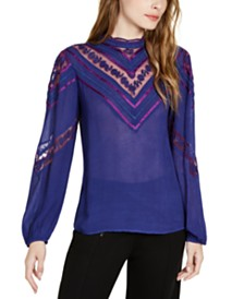 Nanette Lepore Victorian Blouse, Created for Macy's