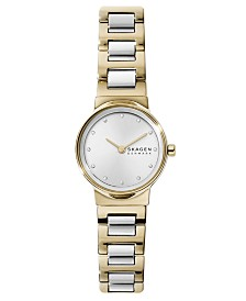 Skagen Women's Freja Two-Tone Stainless Steel Bracelet Watch 26mm