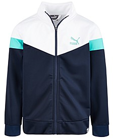 Big Boys Colorblocked Track Jacket