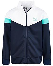 Puma Big Boys Colorblocked Track Jacket