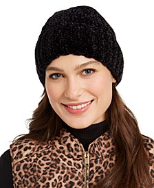 Cable Chenille Beanie, Created for Macy's