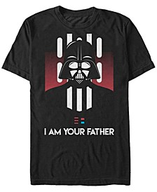 Men's Classic Darth Vader I Am Your Father Short Sleeve T-Shirt
