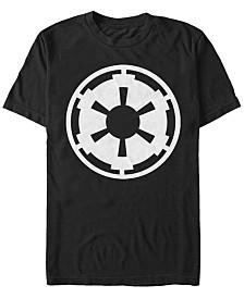 Star Wars Men's Empire Emblem Logo Short Sleeve T-Shirt