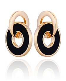 Interlocking Circle Earring