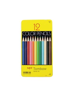 Tombow 1500 Series Colored Pencils, 12-Piece Set