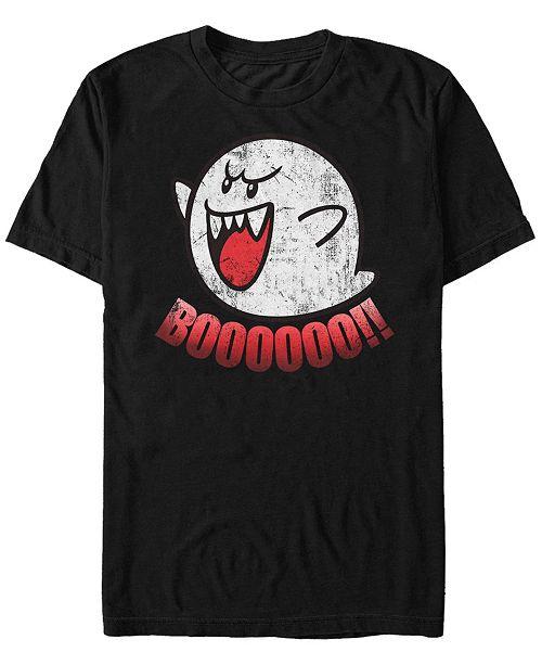 Nintendo Men's Classic Boo Ghost Short Sleeve T-Shirt