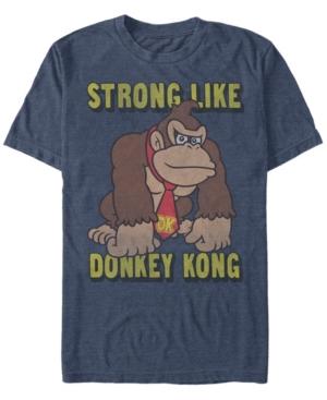 Nintendo Men's Donkey Kong Strong Like Donkey Kong Short Sleeve T-Shirt