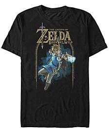 Men's Legend of Zelda Bow And Arrow Short Sleeve T-Shirt