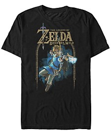 Nintendo Men's Legend of Zelda Bow And Arrow Short Sleeve T-Shirt