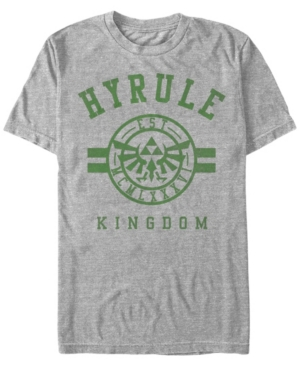 Nintendo Men's Legend of Zelda Hyrule Kingdom Short Sleeve T-Shirt