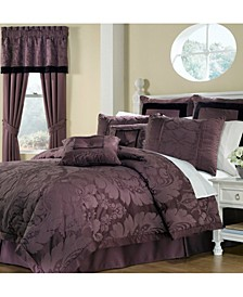 Lorenzo 8 Piece Queen Comforter Set