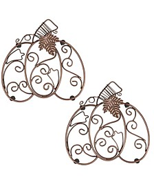 Pumpkin Scroll Trivet Set of 2