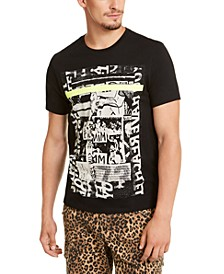 Men's Neon Collage Graphic T-Shirt