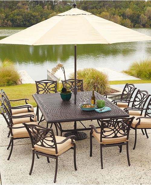 Furniture CLOSEOUT! Kingsley Outdoor Dining Collection, Created for Macy's  - Furniture - Macy's - Furniture CLOSEOUT! Kingsley Outdoor Dining Collection, Created For