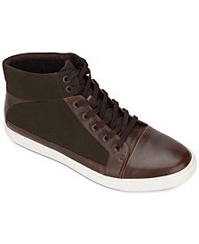 Kenneth Cole Men's Stand High-Top Fashion Sneakers