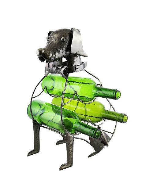 Wine Bodies Sitting Dog Wine Bottle Holder