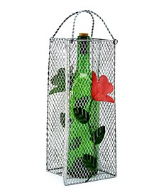 Flowers Gift Bag Bottle Holder
