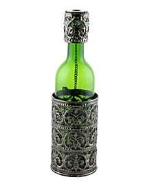 Fleur De Lis Wine Bottle Holder