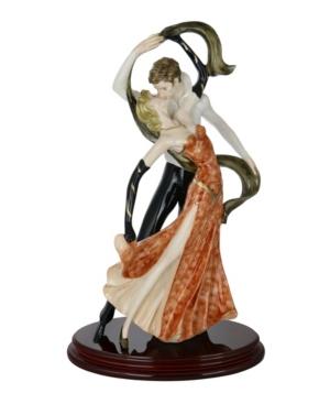 Three Star Love Tango Dancers Santini Figurine
