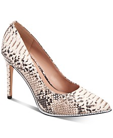 BCBGeneration Harleigh Chain Pointy Toe Pumps
