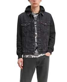 Levis® Men's Big & Tall Hooded Trucker Denim Jacket