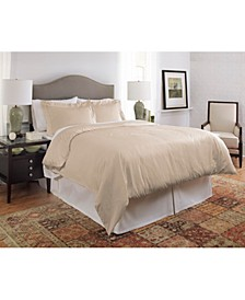 450 thread count Dobby Cotton Full/Queen Duvet Set
