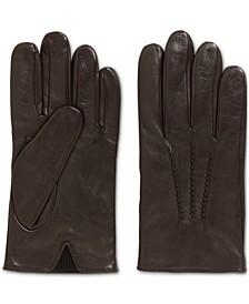 BOSS Men's Grifin Lambskin-Nappa Leather Gloves