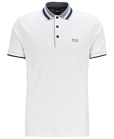 BOSS Men's Paddy 1 Interlock-Cotton Polo Shirt