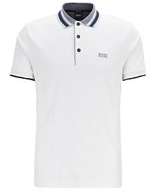 BOSS Men's Paddy 1 Interlock-Cotton Polo Shirt