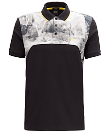 BOSS Men's Paddy 7 Luxury-Cotton Polo Shirt