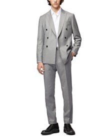 BOSS Men's Namil 1 Double-Breasted Slim-Fit Jacket