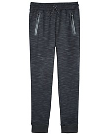 Big Boys Textured Space-Dyed Joggers, Created for Macy's