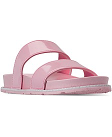 Little Girls Anna Slide Sandals from Finish Line