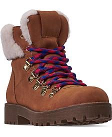Steve Madden Little Girls JBROADWAY High Top Boots from Finish Line