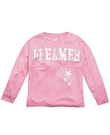 Little & Big Girls Dreamer-Print Pajama Top, Created For Macy's