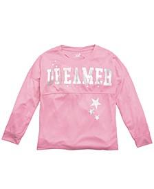 Little & Big Girls Dreamer-Print Pajama Top, Created For Macy's