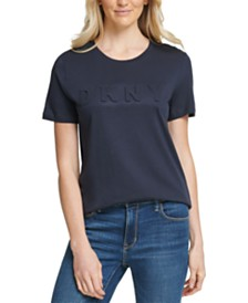DKNY Embossed Logo T-Shirt