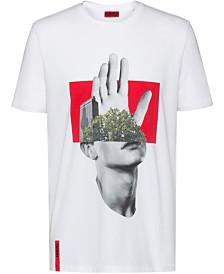 HUGO Men's Hand Graphic T-Shirt